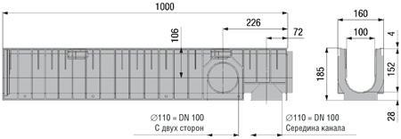 Пластиковый канал арт 40242